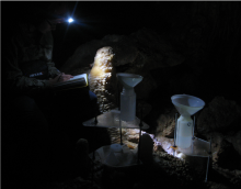 Monitoring cave hydrology in Golgotha Cave, Western Australia